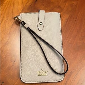 Kate Spade Wallet/phone/ID Holder Wristlet